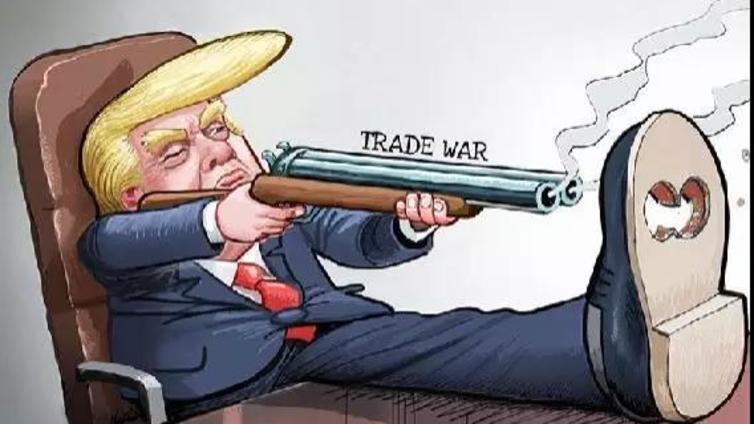 特朗普太狠——先给美国自己来了一枪
